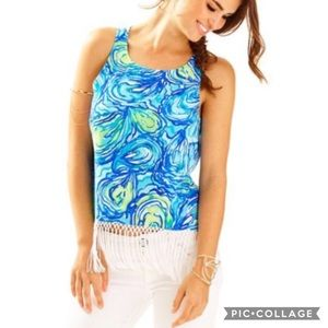 Lily Pulitzer Sonya Top NWT $118 Size 4